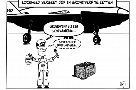 Cartoon grondverf