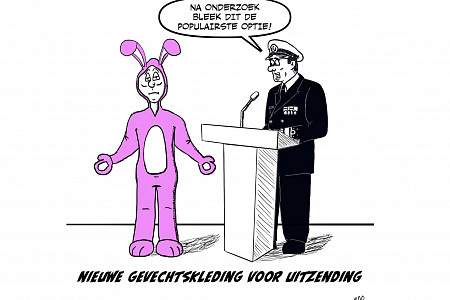 180607 Cartoon gevechtstenue