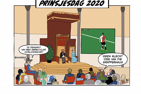 5. Cartoon Prinsjesdag